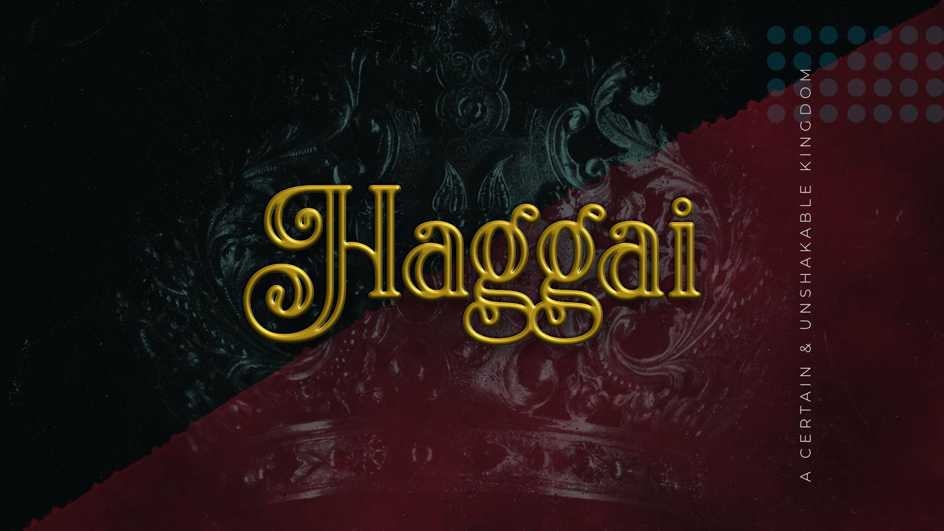 Haggai 2:10-23