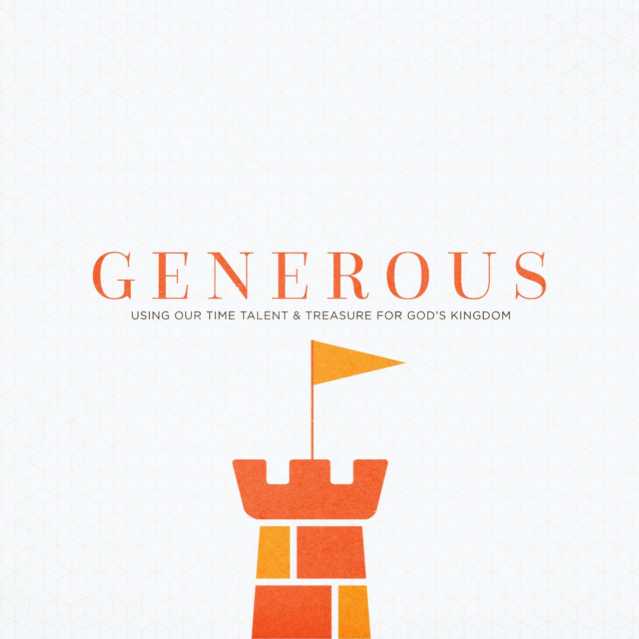 Generous: How Do We Invest It?